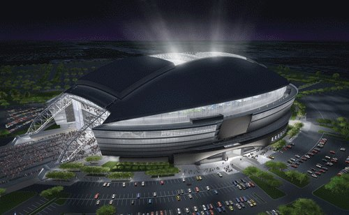 The New Dallas Cowboys Stadium Futuristic Sports Palace