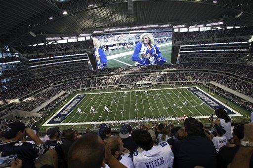 The New Dallas Cowboys Stadium Futuristic Sports Palace