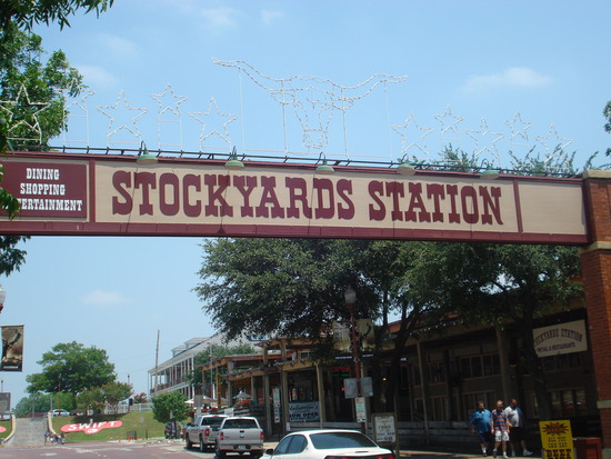 Fort Worth Stockyards Historic District Unique Old West