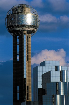 Reunion Tower is one of the